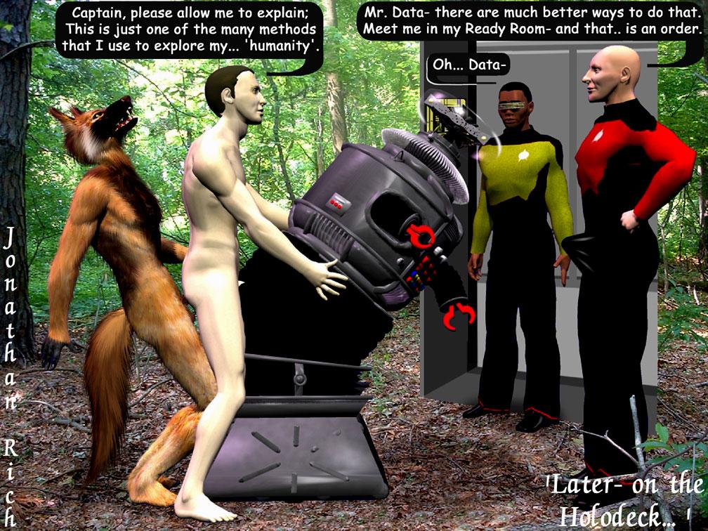 skinned pale trek android star Erotic-3d-art.com