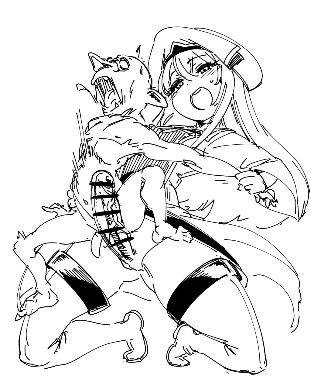 goblin a as slime reincarnated Shin sei yariman gakuen enoku