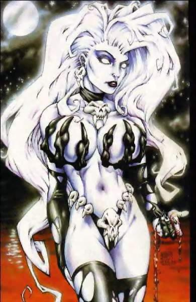 lady death marvel Are gon and killua gay