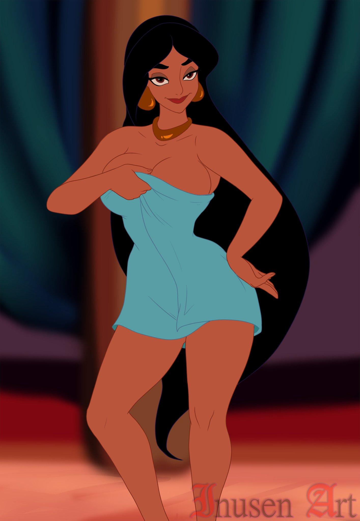 nude with jafar princess jasmine Ren ai fuyou gakuha the animation