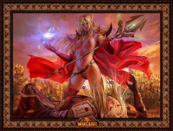 elf judgement blood paladin armor Akame ga kill numa seika