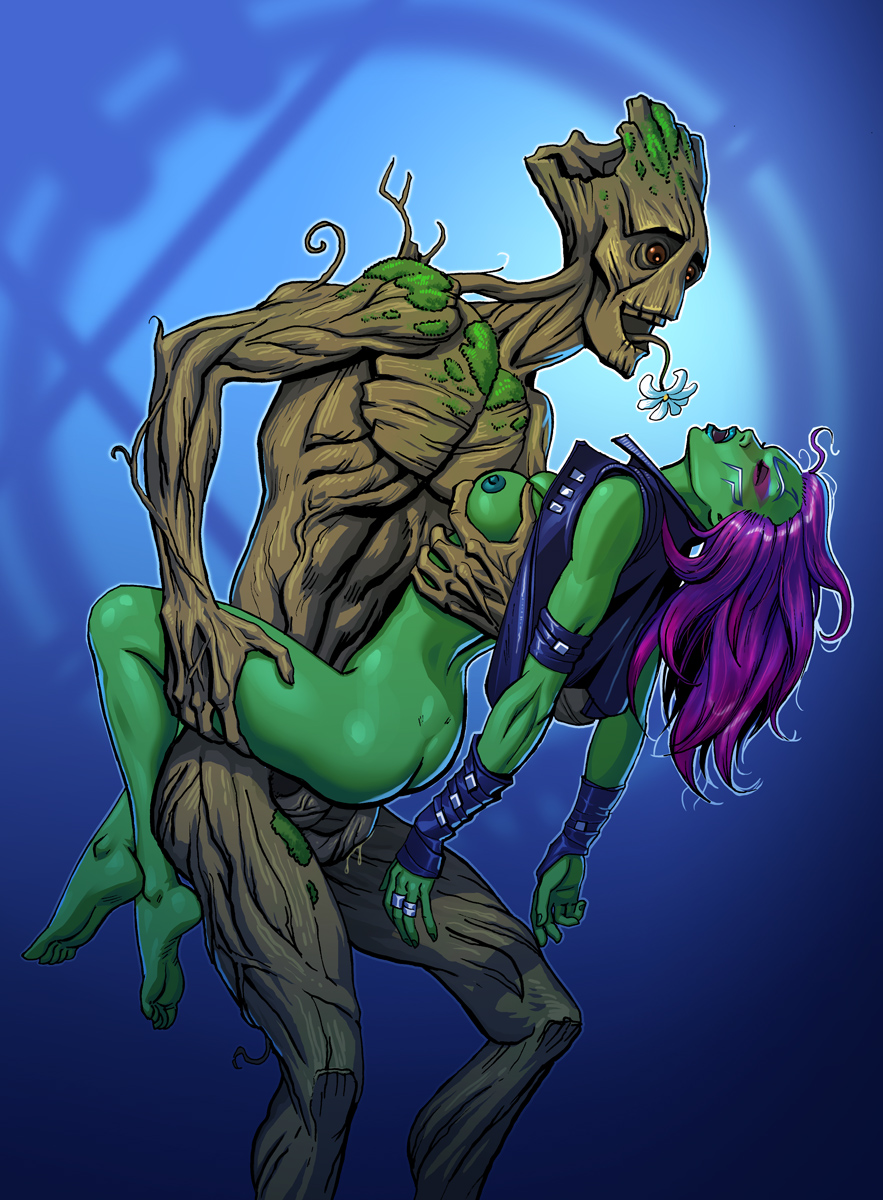 of the guardians naked gamora galaxy Ero zemi~ecchi ni yaru-ki ni abc