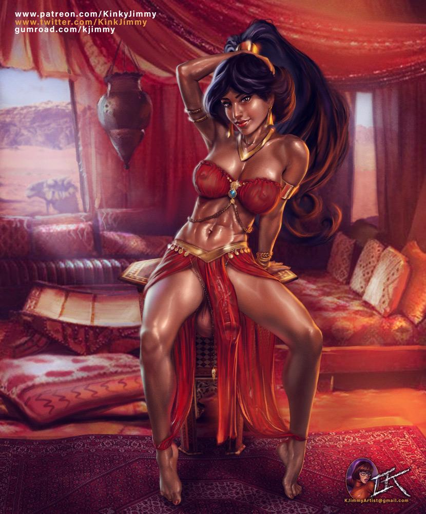 with nude jafar jasmine princess Sword art online naked girls