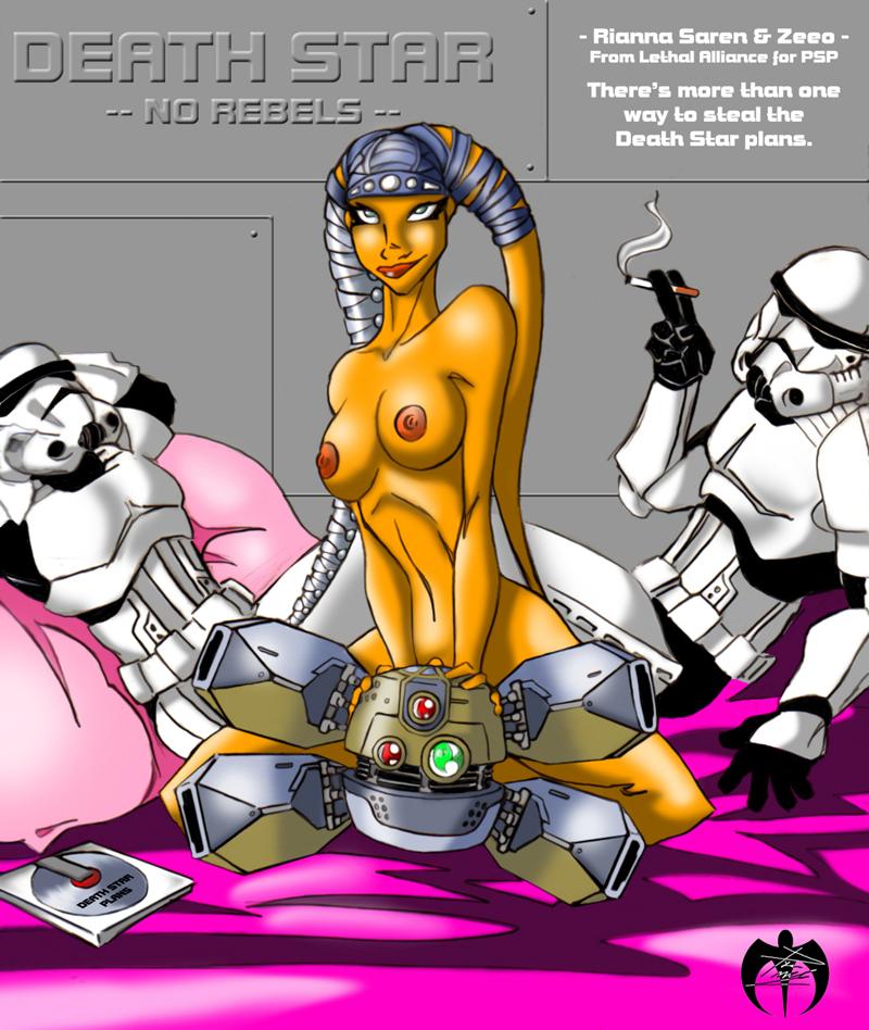 the star wars wars porn clone comic Getsuyoubi no tawawa ai-chan