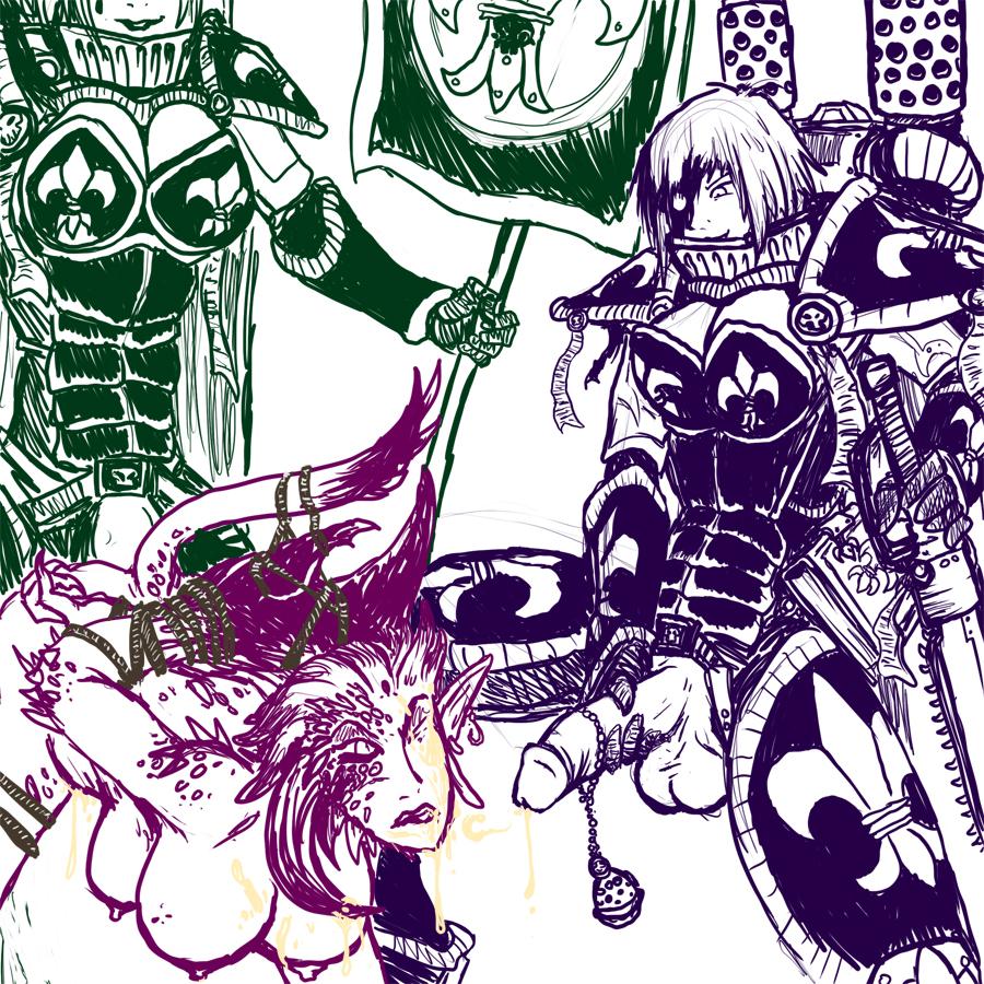 of rule 40k 3 warhammer Midna from legend of zelda