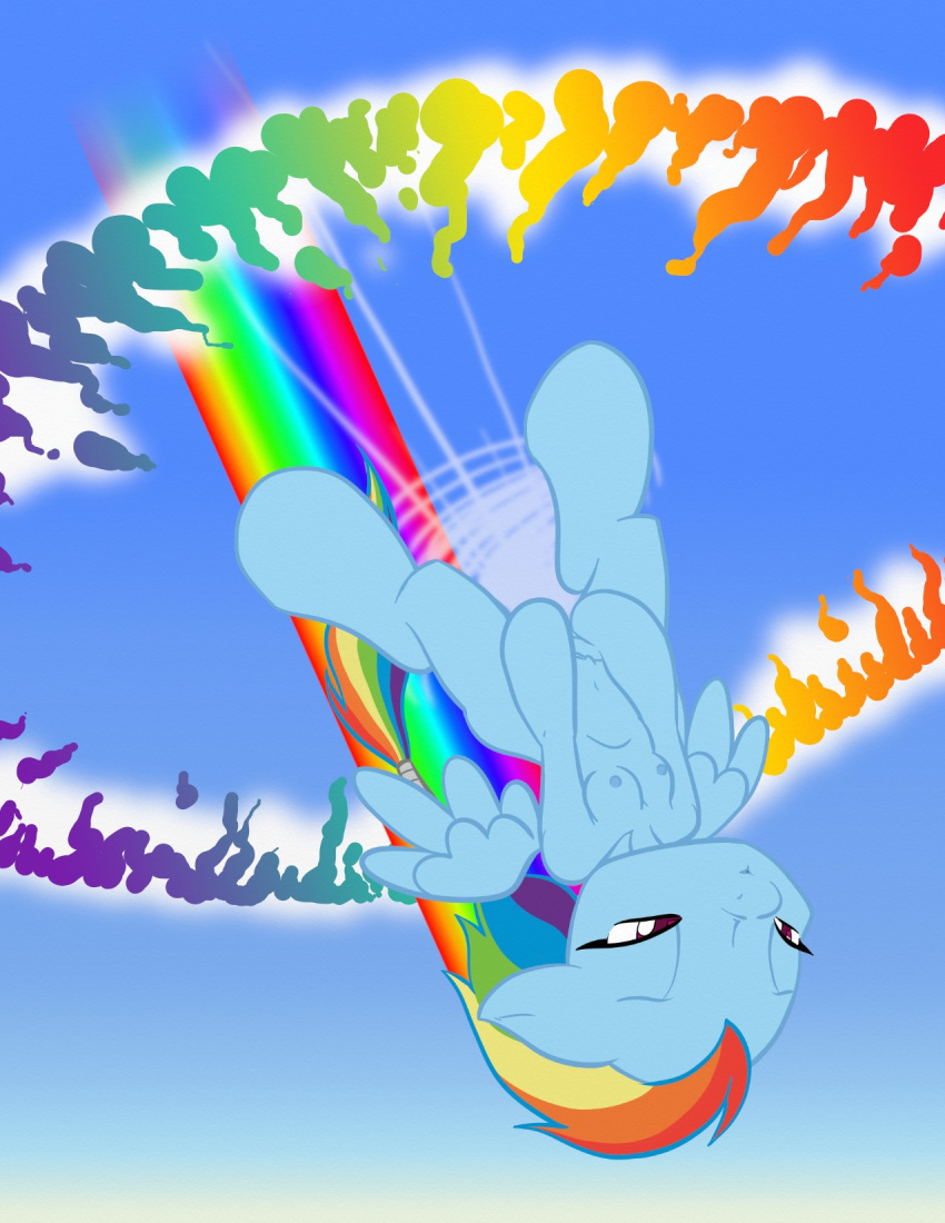 dash pony little my rainbow hentai Legend of zelda beach towel
