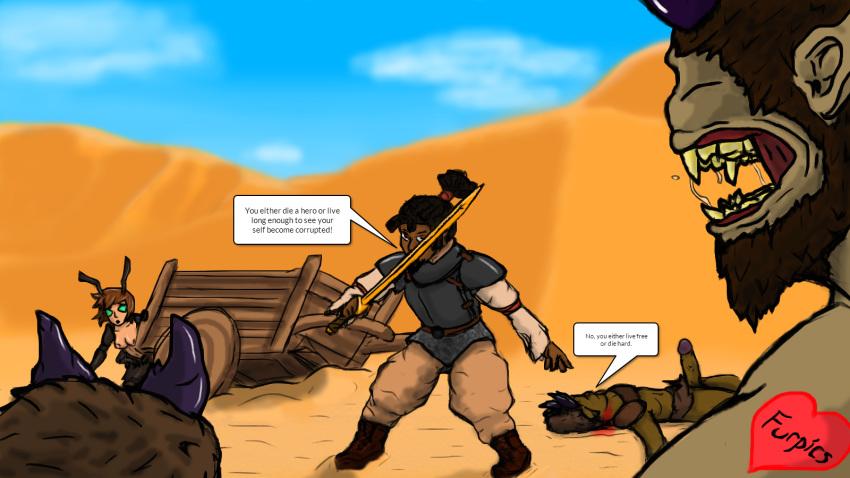 champions text corruption scenes of The legend of zelda dead hand