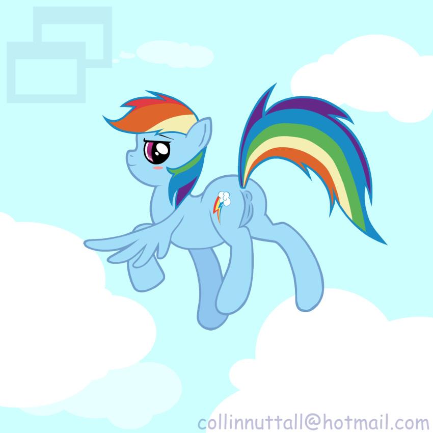 my portal rainbow dash little Scp containment breach scp 106