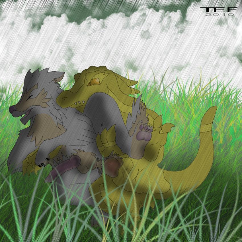 cheza and kiba rain wolf's The mangle five nights at freddy's