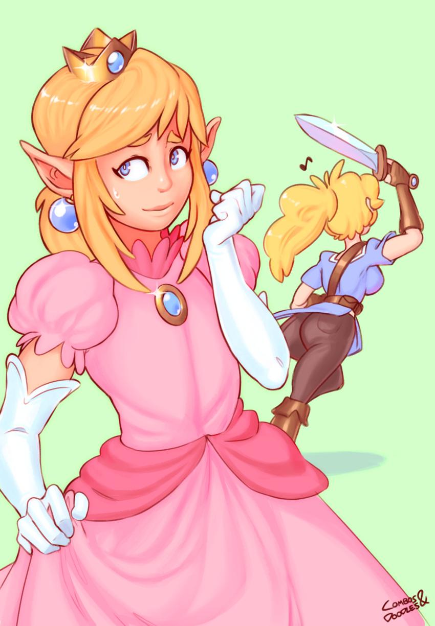 princess and peach sex mario Elf mura no kanraku ~chijoku to kairaku no utage~
