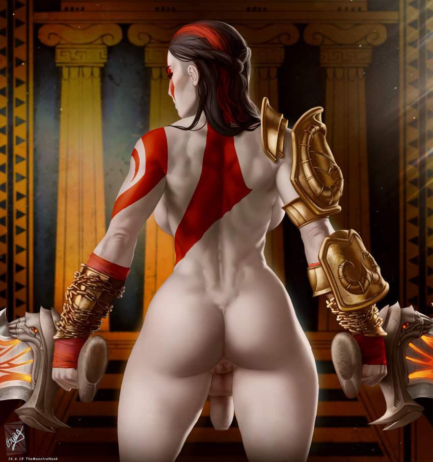 nude 3 god war of How old is donkey from shrek