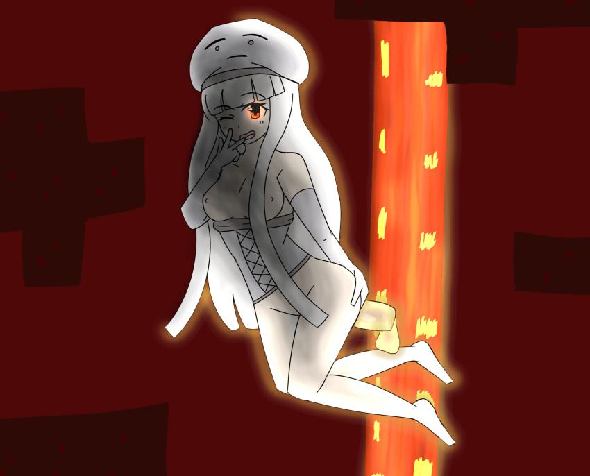 talker mob minecraft creeper charged Koukou kyuuji zawa-san