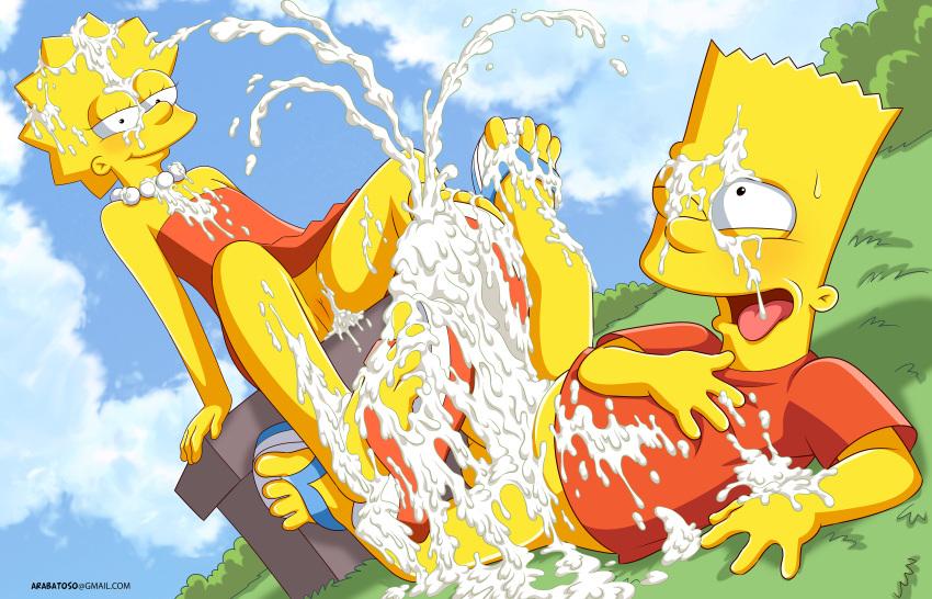 simpson and lisa xxx bart Legend of queen opala comic