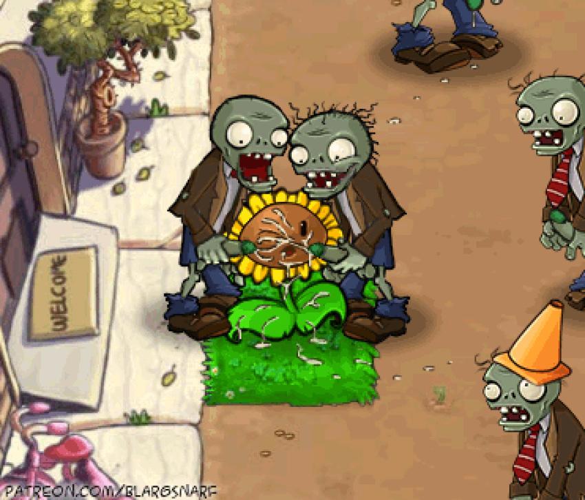 vs videos 2 plants zombie Kenja_no_mago