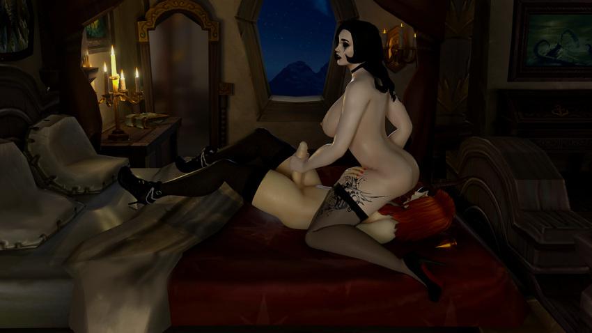 warcraft world sex gif of Black cat spider man ps4