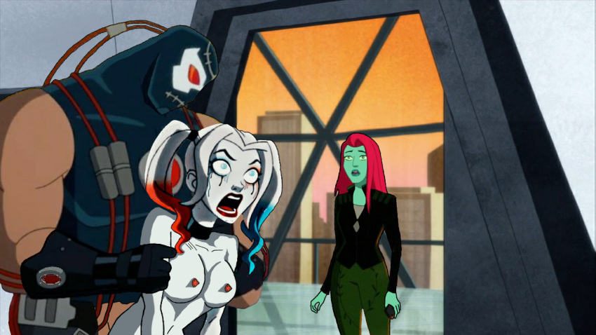 xxx harley quinn and catwoman Highschool of the dead misuzu