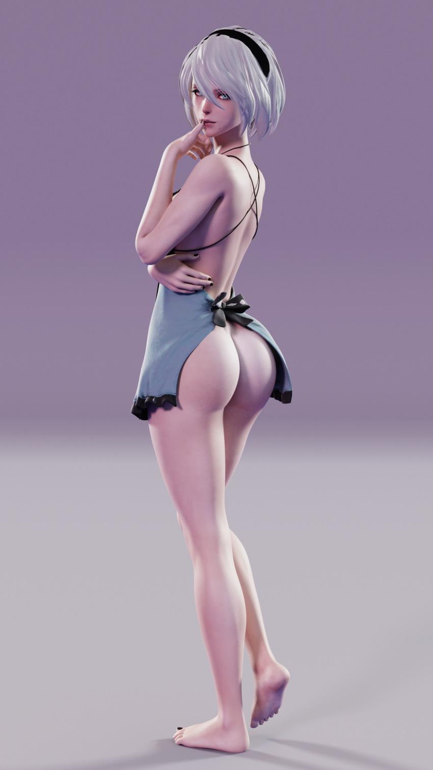 skirt automata nier get back Itsuka tenma no kuro usagi uncensored