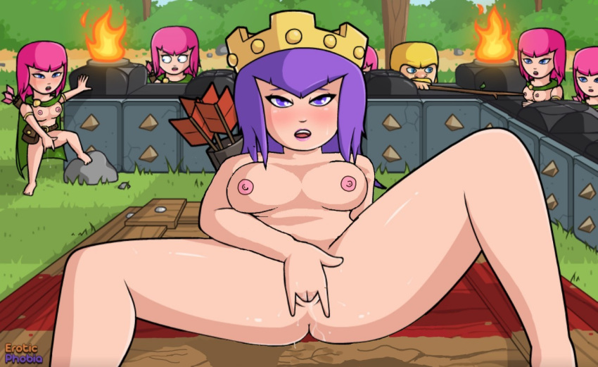 comic clash of clans porn Breath of the wild bokoblins